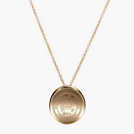 ILL0113: Cavan Gold Illinois Organic Necklace by KYLE CAVAN